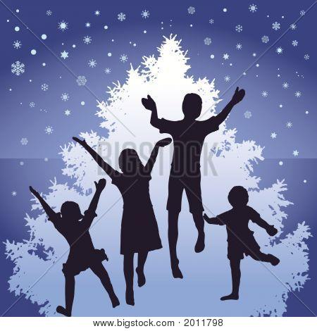 Christmas Kids Jump
