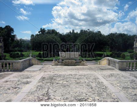 View Of Gardens At Vizcaya