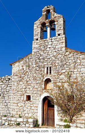 Traditional village at Mani, Greece