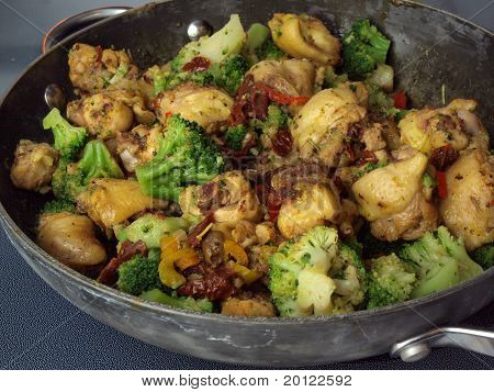 Curry Chicken Stirfry