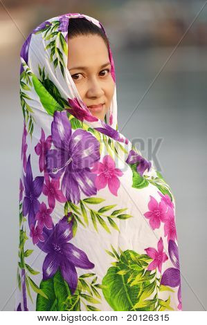Asian Muslim Woman