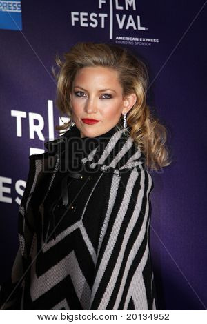"NEW YORK - APRIL 27: Actress Kate Hudson attends the premiere of ""The Killer Inside Me"" at the School of Visual Arts Theater during the 2010 TriBeCa Film Festival on April 7, 2010 in New York City."