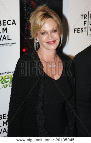 NEW YORK - APRIL 21: Actress Melanie Griffith attends the