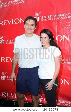 NEW YORK - MAY 1: Dr. Mehmet Oz attends the 13th Annual Entertainment Industry  Foundation Revlon Run/Walk for Women at Times Square on May 1, 2010 in New York City.
