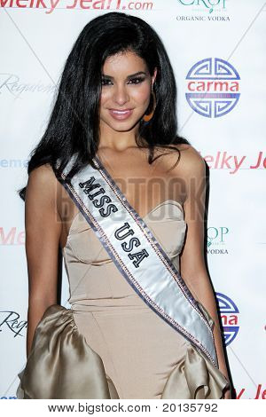 NEW YORK - JUNE 13: Miss USA Rami Fakih attends the 3rd annual Geminis Give Back at 1OAK on June 13, 2010 in New York City.