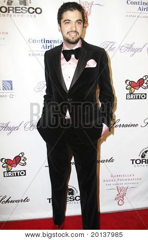 NEW YORK - OCTOBER 21: DJ Cassidy attends Angel Ball 2010,hosted by Gabrielle's Angel Foundation for Cancer Research at Cipriani's on October 21, 2010 in New York City.