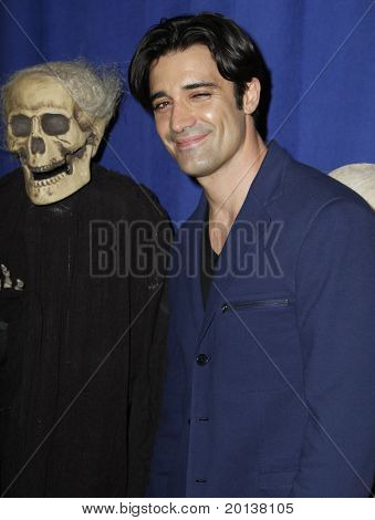 NEW YORK - OCTOBER 29: Actor Gilles Marini attends the 15th Annual Bette Midler's New York Restoration Project's Hulaween at the Waldorf-Astoria Hotel on October 29, 2010 in New York City.