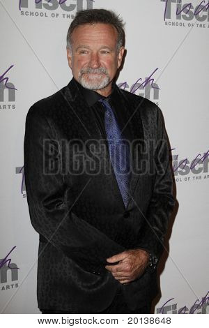 NEW YORK - DECEMBER 6: Comedian Robin Williams attends the Face of Tisch gala at the Frederick P. Rose Hall at Lincoln Center on December 6, 2010 in New York City.