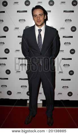 HUNTINGTON, NY - JANUARY 6: Actor Vincent Piazza attends the Midwinter Night's Dream fundraiser event  for ALS Research held at Oheka Castle on January 6, 2011 in Huntington, New York.
