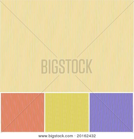 thin stripe background  - choice of colors vector