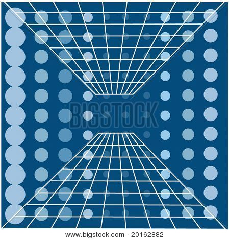 dots and grid background vector