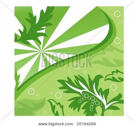 leaves overlay