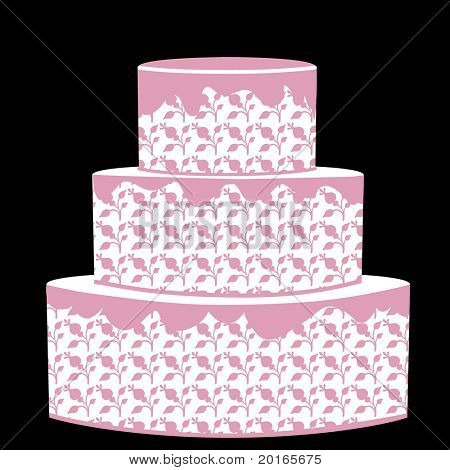 three tiered cake any occasion