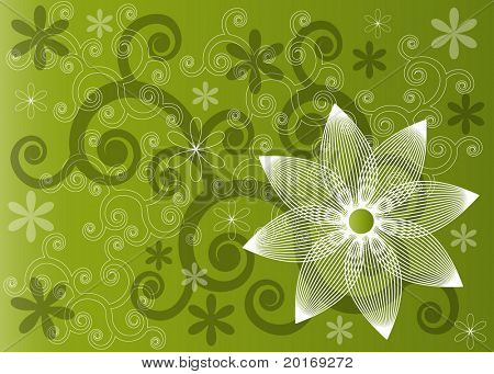 funky background fresh spring colors vector