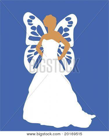 fairy anglel vector