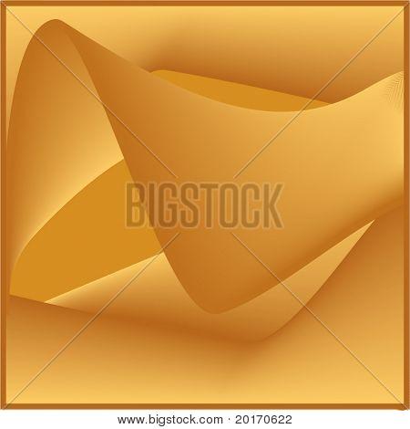 golden (folds)  background vector