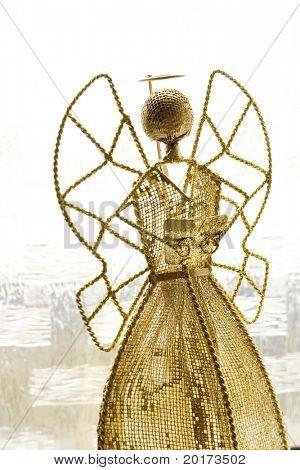 gold angle decoration
