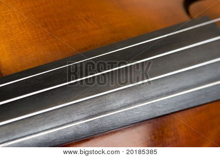 Violin Strings Abstract