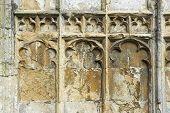 Medieval Church Stonework poster