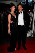 NEW YORK - APRIL 26: Brian Grazer and wife Chau-Guang Thi Nguyen attend the Time 100 Gala for the 10