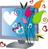 image of heartfelt  - cyber love online dating - JPG