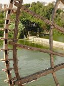 Norias, Wooden Water Wheels, Halab, Hama, Syria