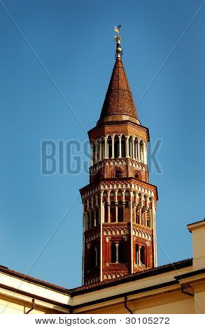 Tower of Arcivescovile Palace - Milan, Italy