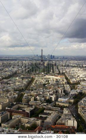 Eiffel Tower, Taken From A Distance