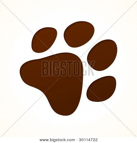 Brown Footprint