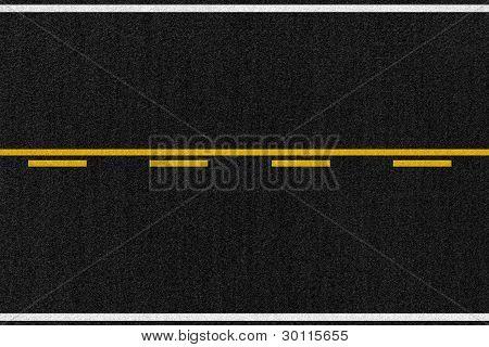 American Road Asphalt Texture