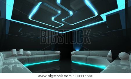 Electronic Luxury Room