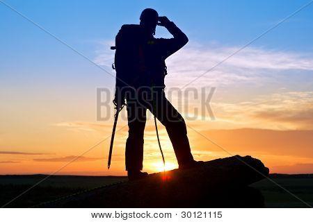 Silhouette Climber