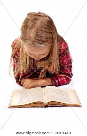 kleine Mädchen-Lesebuch