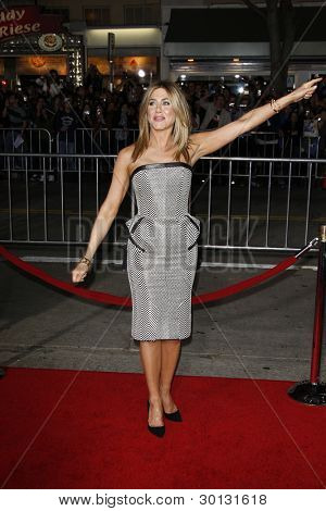 LOS ANGELES, CA - FEB 16: Jennifer Aniston at the premiere of Universal Pictures' 'Wanderlust' held at Mann Village Theatre on February 16, 2012 in Los Angeles, California