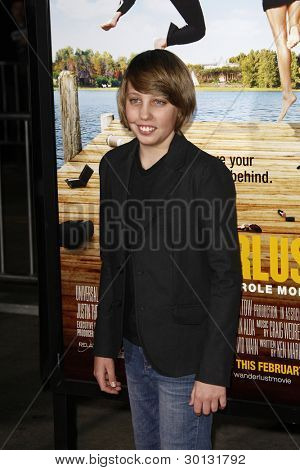 LOS ANGELES, CA - FEB 16: Ryan Lee at the premiere of Universal Pictures' 'Wanderlust' held at Mann Village Theatre on February 16, 2012 in Los Angeles, California