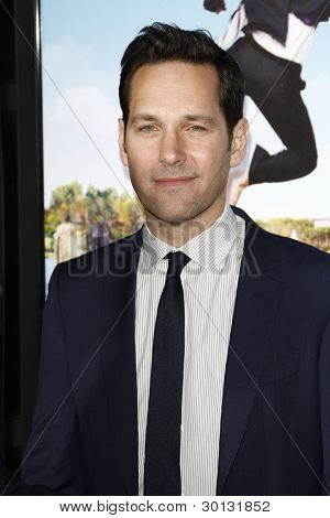 LOS ANGELES, CA - FEB 16: Paul Rudd at the premiere of Universal Pictures' 'Wanderlust' held at Mann Village Theatre on February 16, 2012 in Los Angeles, California