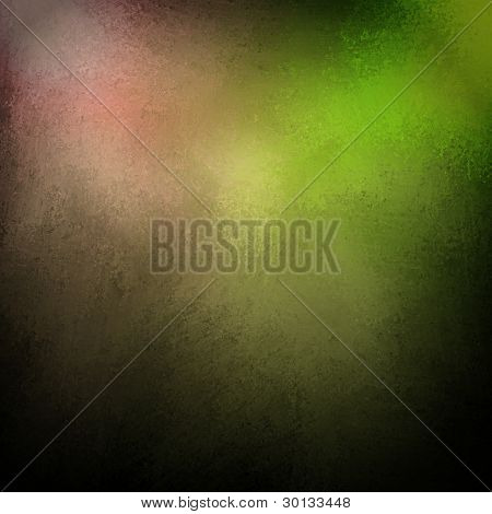 Abstract Colorful Green And Pink Background