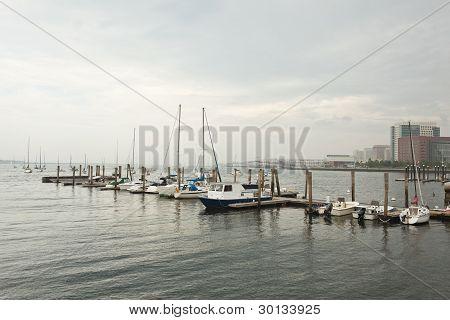 boston: central wharf