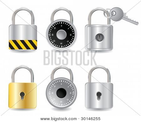 set padlock