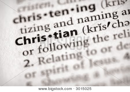Dictionary Series - Religion: Christian