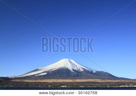Mt.fuji And Blue Sky