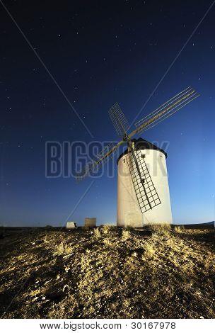 molinos de viento Quijote, España