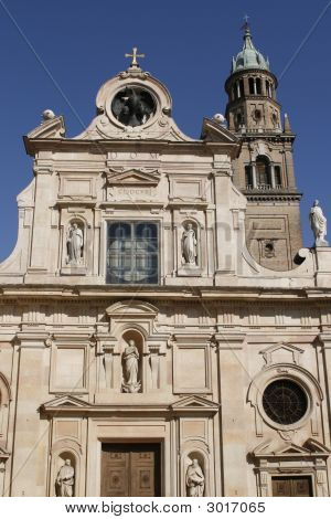 Church Of St John The Evangelist In Parma