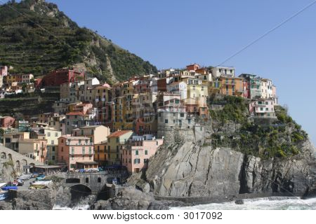 Colorful Corniglia