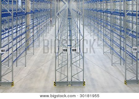 Inside Empy Warehouse