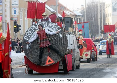 Carnival in Velika Gorica - Topics Asterix and Obelix