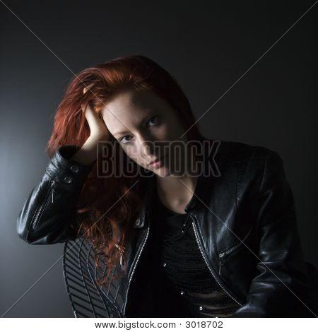 Pretty Woman Portrait.