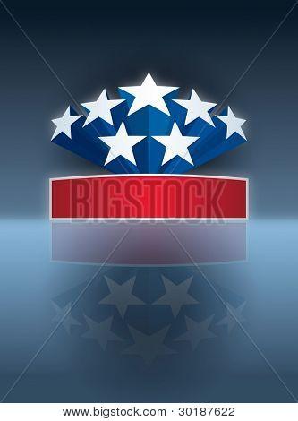 American stars banner