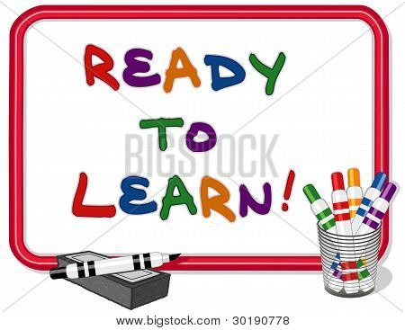 Ready To Learn Whiteboard