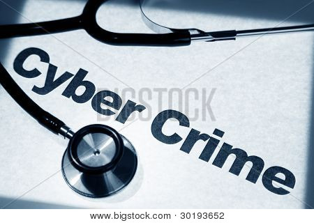 Stethoscope And Cyber Crime